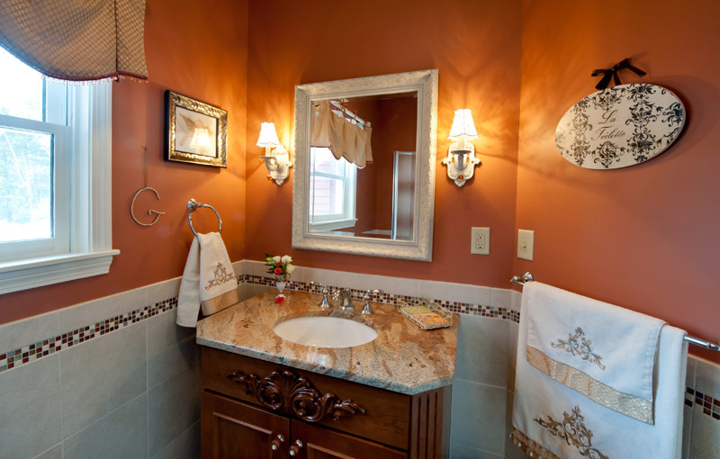 Custom Bathroom Vanities Nh bathroom remodel nh | alc design