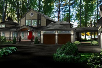 Lake House 3D Home Improvement Concept NH