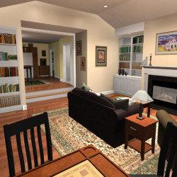 3D Home Remodeling Concept